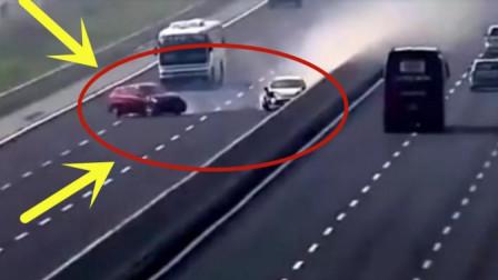 两个小轿车司机高速路段互不相让,几秒现场画面不忍直视