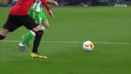 第76分钟皇家贝蒂斯球员华金射门