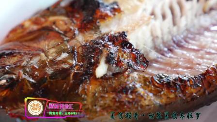 国外美食猎奇,海鲜市场现抓海鲜用来烧烤,这味道真不错!