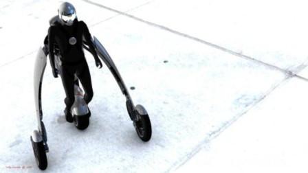摩托车还能穿在身上?雅马哈用36块人造肌肉打造,站起就能停车!