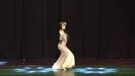 世界肚皮舞舞蹈大赛,韩国美女跳的太棒了,S型