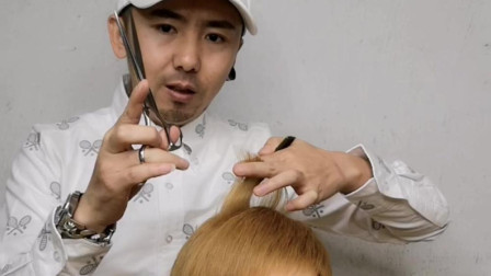 剪发时,分发片多薄才是最佳的,鑫米老师主讲
