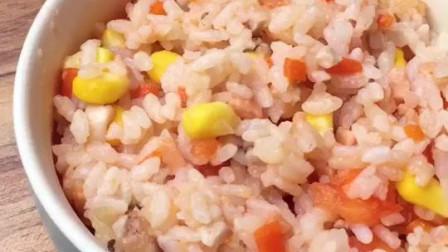 做了一道网红蒸米饭,味道还不错,一分钟学会