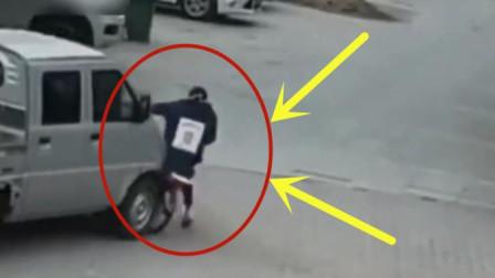 小女孩放学骑车回家路上,遭遇不幸,家人调看监控崩溃了