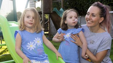 """英国女孩患遗传病,不幸成了痴呆儿童,但却意外""""救""""了妹妹!"""