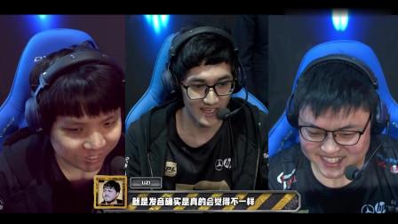 RNG vs EDG英雄麦克疯,AJ粤语教学,卡萨:狗哥还是牛皮啊