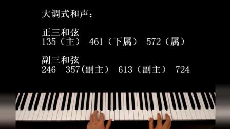 十分钟解析即兴伴奏公式套路的和声原理,保证你从未听过