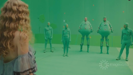 令人惊叹的好莱坞特效前后对比 (爱丽丝梦游仙境、银河护卫队2)
