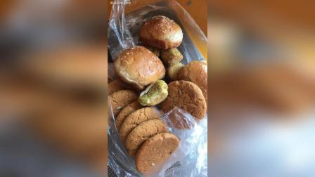 红豆面包 绿豆糕 桃酥