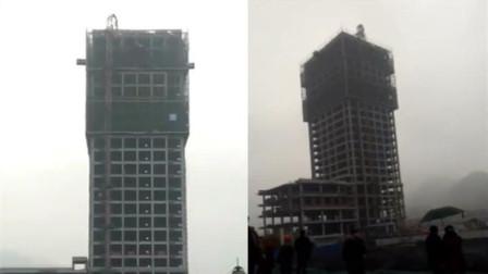 珙县在建工地塔吊垮塌 致三名工人高空坠亡