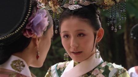 皇上要把果郡王送给甄嬛的合欢花砍了,却被宁嫔用这种方式阻止!