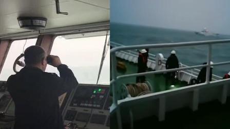 宁波海域货轮撞沉一渔船 2人获救5人失联