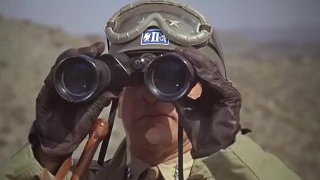 英美盟军与德军在非洲战场上用坦克硬碰硬 场面很壮观。