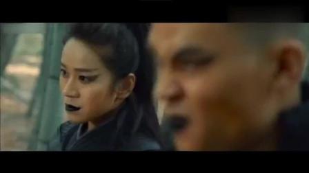 电影片段:三大激战广东十虎王隐林,结果被打得两一伤!