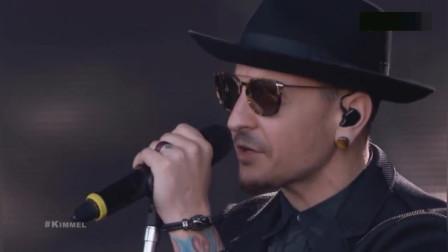 当Linkin Park的音乐再次响起,在场人都已为泪人