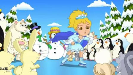 爱探险的朵拉第8季:冰女巫,花式溜冰一级棒
