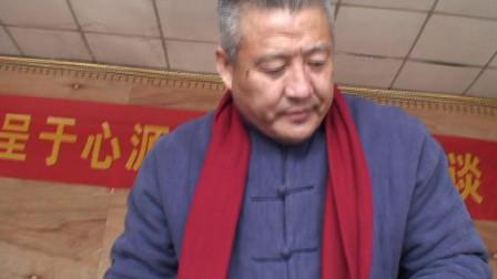 杜爱民院长等到北京再阳光书画院交流书画艺术