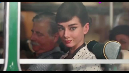 创意广告:奥黛丽·赫本德芙广告,吹爆我女神的颜值!