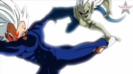 龙珠正邪之战第8集,贝吉塔确实是个战斗天才,没人帮也不一定会输