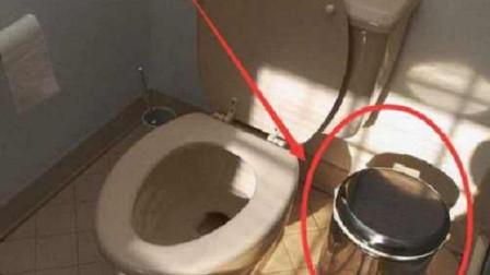 卫生纸扔马桶里,还是垃圾桶里?原来我想错了,难怪厕所这么臭