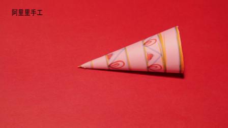 阿里里手工,今天教大家做一个粉色的生日帽