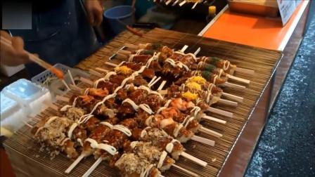 """日本街头美食煎饼串串,面对这样的食物,网友:""""我一次能吃20个"""""""