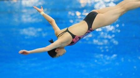 郭晶晶上演奥运史上最完美一跳,0水花入水