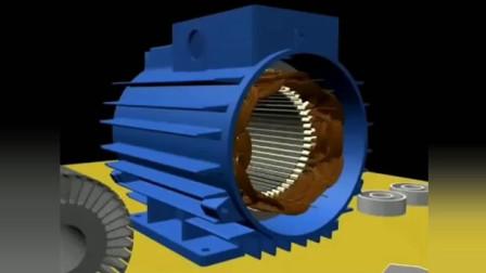 详细三相异步电动机原理结构的剖解
