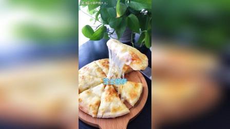 今天的日常, 甜芝士披萨, 要是有榴莲就更完美啦️