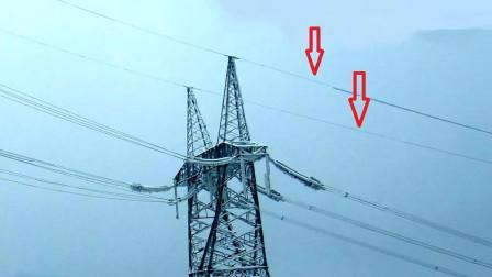 为什么高压输电塔最上方有两条不带电的导线,到底有什么用?