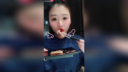 【吃播】02/17烤肉鲍师傅海苔肉松小贝
