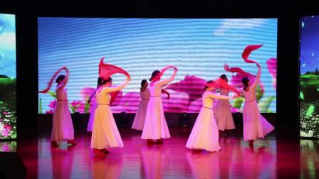 毛老师舞蹈  丝巾舞 我爱你中国