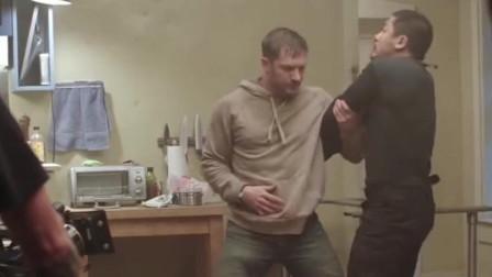 《毒液-致命守护者》拍摄花絮,电脑特效之前和之后