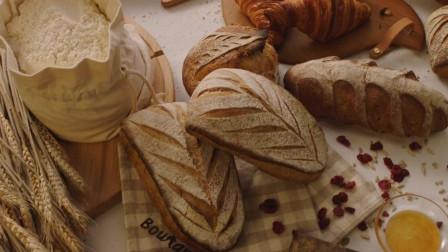 美食诱惑 法国羊角面包 法式长棍面包