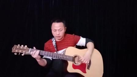 《月亮代表我的心》吉他独奏