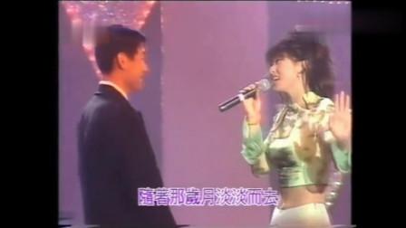 天后加天王,叶倩文与张学友联手合唱《无言的结局》倩姐很霸气