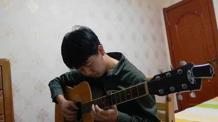 吉他指弹--春、来る(岸部真明)【菜鸟勿喷】