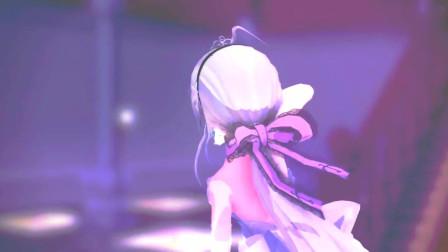 弱音穿白色婚纱跳舞,这个造型太喜欢了,跳起舞更美了!