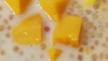 芒果西米露,炎炎夏日喝一碗这个太享受了,做法简单一份钟学会