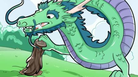 龙王把木桩认成了自己儿子,儿子在一旁笑坏了!