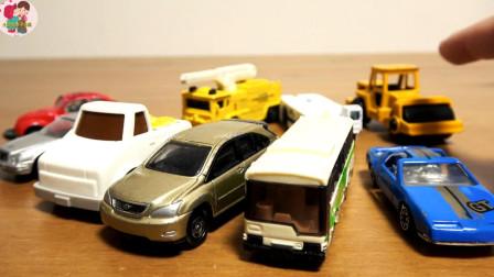 多种款式小汽车压路车皮卡车吊车客车小轿车,儿童玩具亲子互动