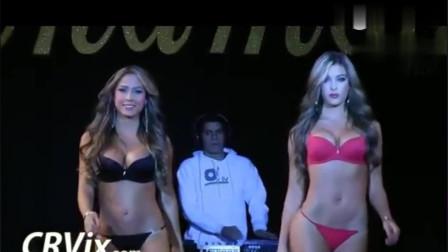 哥伦比亚时尚性感内衣秀,性感超模,美艳动人,让人大饱眼福!