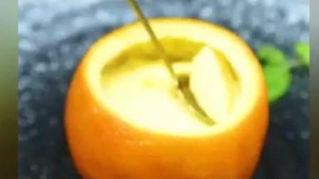 清润止咳的橙子鸡蛋羹,吃完元气满满哦