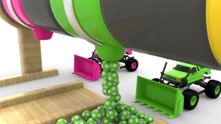 挖土机表演大全 汽车玩具视频 工程车 汽车玩具视频88
