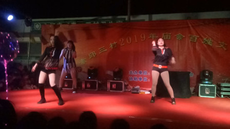 宁晋县素邱三村庙会大型歌舞 《 对棚夜场 》 1