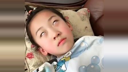 小萝莉在睡觉,哥哥把小萝莉臭袜子给她闻!网友:臭的翻白眼了!