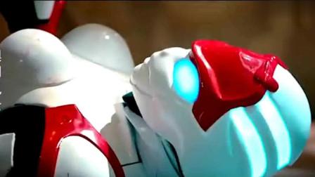 澳门风云3:机器人傻强夫妇被分解,死之前还在秀恩爱,太暖了