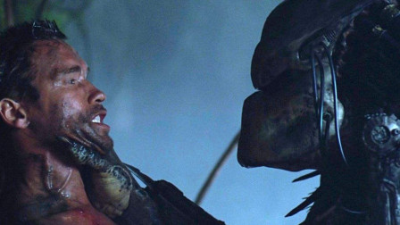 神秘生物残忍强壮男性,铁血战士最经典的一部