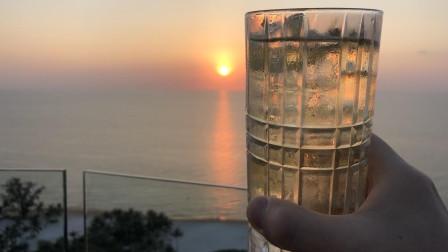 越南富国岛洲际酒店阳台沙滩景色日落Phu Quoc Island