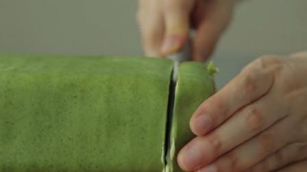 国外奇葩小哥,教你制作抹茶蛋糕,刷新了做蛋糕的认知
